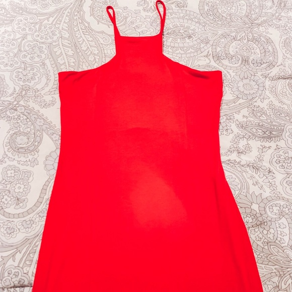 Express Dresses & Skirts - Express Red Form Fitting Dress